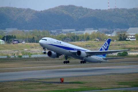 富山ANA-B767