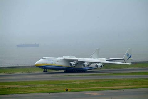 An-225着陸2