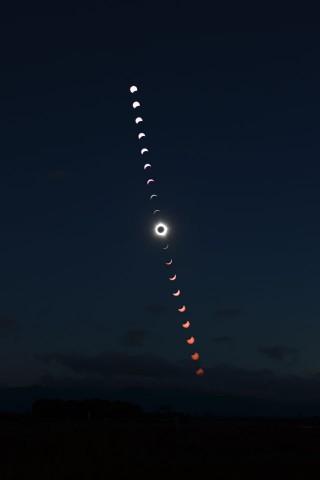 ケアンズ皆既日食1