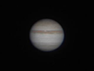 木星を撮ってみた。