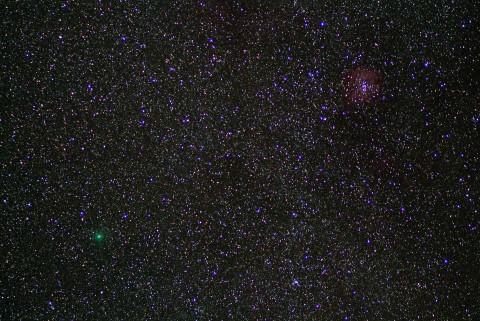 ハートレイ彗星20101106