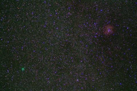 ハートレイ彗星20101107
